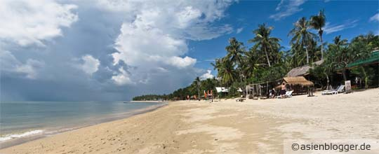klong khong beach koh lanta - viele günstigste Unterkünfte direkt am Strand